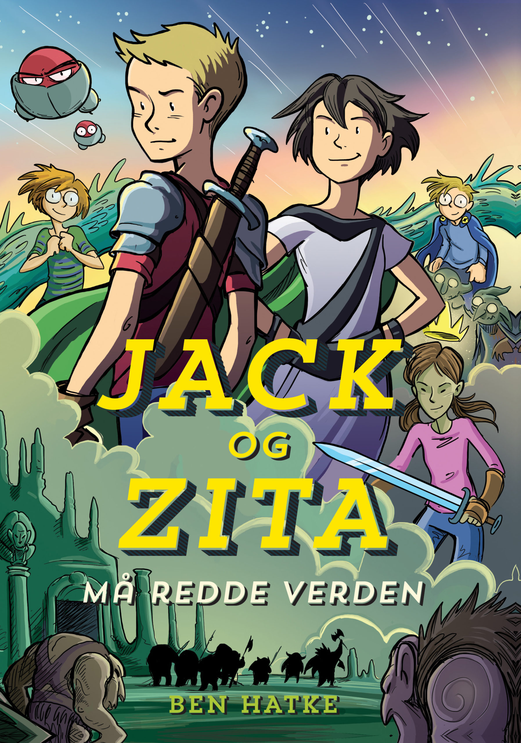 Jack og Zita redder verden forside